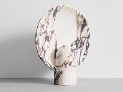 Henry Wilson Sculpted Calacatta Viola Marble Lamp by Henry Wilson - 1413899