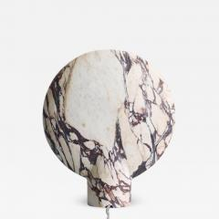 Henry Wilson Sculpted Calacatta Viola Marble Lamp by Henry Wilson - 1414571