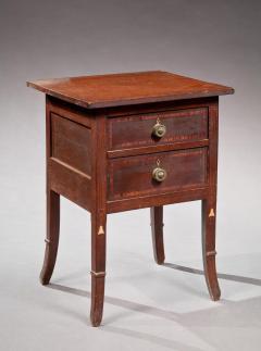 Hepplewhite Inlaid Work Table - 384523