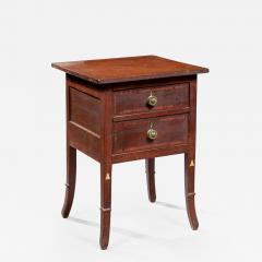 Hepplewhite Inlaid Work Table - 386310