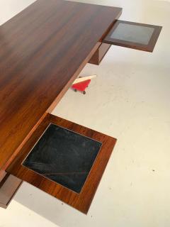Herbert Hirche Herbert Hirche Minimalist Top Series Executive Desk in Rosewood - 1389878