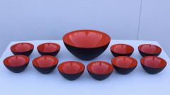 Herbert Krenchel Herbert Krenchel For Krenit Enamel Salad Bowl Set - 1754836