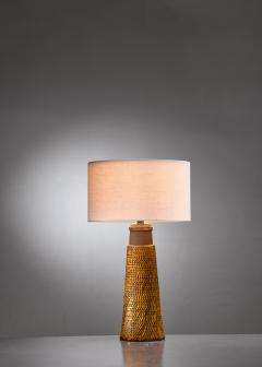 Herman H C K hler K hler ceramic table lamp - 1849917