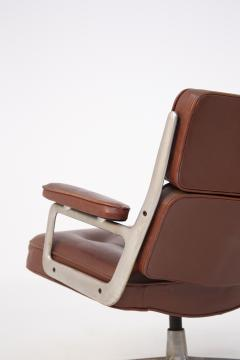 Herman Miller Herman Miller Chairs Model Soft Pad in Brown Leather and Steel - 2136881