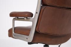 Herman Miller Herman Miller Chairs Model Soft Pad in Brown Leather and Steel - 2136890