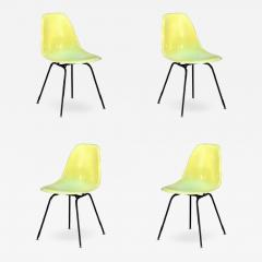 Herman Miller Set of 4 Vintage Eames Chairs by Herman Miller - 974661