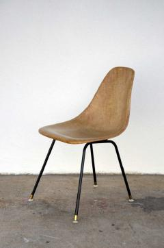 Herman Miller Single Fiberglass Encasted Fabric Mesh Chair by Eames for Herman Miller - 974443