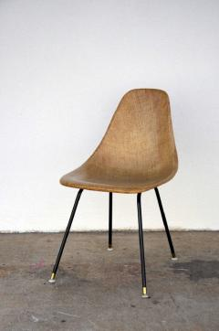 Herman Miller Single Fiberglass Encasted Fabric Mesh Chair by Eames for Herman Miller - 974444