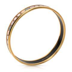 Hermes Vintage Cloisonne Enamel Bangle Bracelet - 1364588