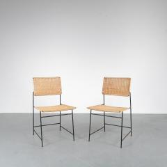 Herta Maria Witzemann Set of Four Herta Maria Witzemann SW88 Chairs for Wilde Spieth Germany 1954 - 1191986