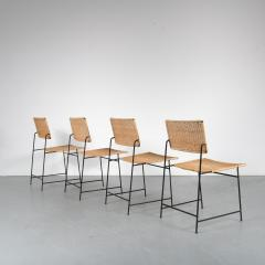 Herta Maria Witzemann Set of Four Herta Maria Witzemann SW88 Chairs for Wilde Spieth Germany 1954 - 1191987