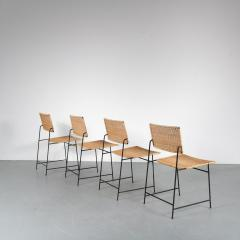 Herta Maria Witzemann Set of Four Herta Maria Witzemann SW88 Chairs for Wilde Spieth Germany 1954 - 1191988