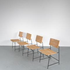 Herta Maria Witzemann Set of Four Herta Maria Witzemann SW88 Chairs for Wilde Spieth Germany 1954 - 1191989