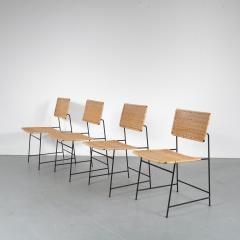 Herta Maria Witzemann Set of Four Herta Maria Witzemann SW88 Chairs for Wilde Spieth Germany 1954 - 1191990