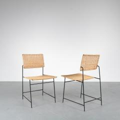 Herta Maria Witzemann Set of Four Herta Maria Witzemann SW88 Chairs for Wilde Spieth Germany 1954 - 1191991