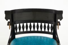 Herter Brothers Herter Brothers ebonized hall chair - 1511662