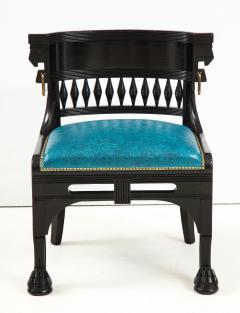 Herter Brothers Herter Brothers ebonized hall chair - 1511663