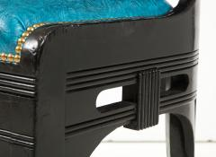 Herter Brothers Herter Brothers ebonized hall chair - 1511665