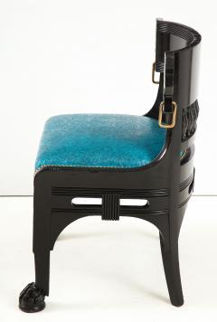 Herter Brothers Herter Brothers ebonized hall chair - 1511669