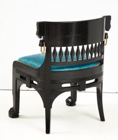 Herter Brothers Herter Brothers ebonized hall chair - 1511670