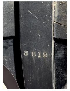 Herter Brothers Herter Brothers ebonized hall chair - 1775963