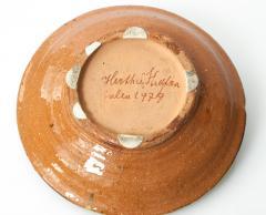 Hertha Hillfon LARGE STUDIO CERAMIC BOWL BY HERTHA HILFON 1979 - 1345126