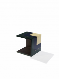 Herv Langlais Pedestal Table Homage to the Cube - 790309