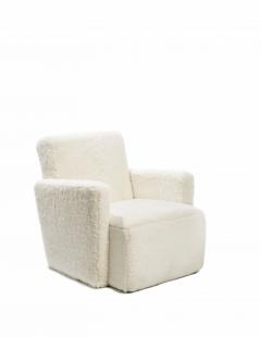 Herv Langlais Petit Frank Chair in Sheepskin - 814764