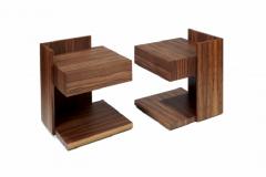 Herv Langlais Wood Bedside Table - 802902