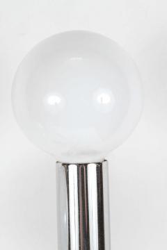 Hexagonal Chrome Tower Table Lamp - 338871