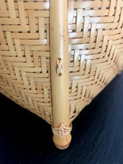 Higashi Takesonosai Japanese Bamboo Basket by Higashi Takesonosai - 1220578