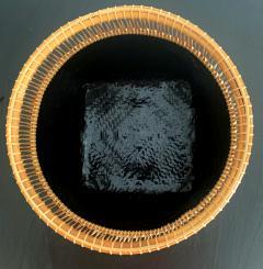 Higashi Takesonosai Japanese Bamboo Basket by Higashi Takesonosai - 1220579