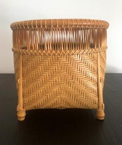 Higashi Takesonosai Japanese Bamboo Basket by Higashi Takesonosai - 1220583