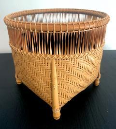 Higashi Takesonosai Japanese Bamboo Basket by Higashi Takesonosai - 1220584