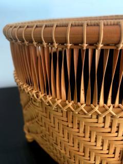 Higashi Takesonosai Japanese Bamboo Basket by Higashi Takesonosai - 1220586