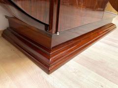 High Art Deco Sideboard Buffet Rosewood Nickel Marble France circa 1930 - 2119144