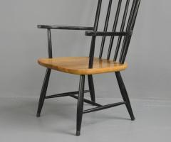 High Back Mid Century Chair By Ilmari Tapiovaara Circa 1960s - 1602987