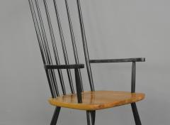 High Back Mid Century Chair By Ilmari Tapiovaara Circa 1960s - 1602989