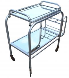 High Style French 1930s Art Deco Chrome Trolley - 1106203