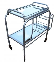 High Style French 1930s Art Deco Chrome Trolley - 1106204