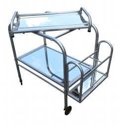 High Style French 1930s Art Deco Chrome Trolley - 1106205
