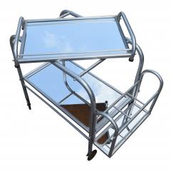High Style French 1930s Art Deco Chrome Trolley - 1106207