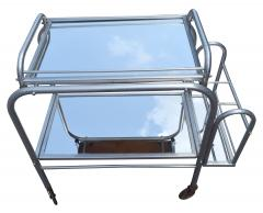 High Style French 1930s Art Deco Chrome Trolley - 1106208
