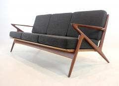 Highly Desirable Z Frame Seating Set Designed by Poul Jensen Selig - 1739986