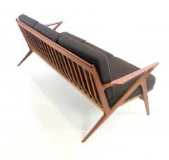 Highly Desirable Z Frame Seating Set Designed by Poul Jensen Selig - 1739987
