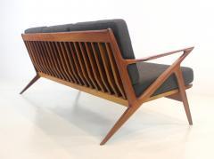 Highly Desirable Z Frame Seating Set Designed by Poul Jensen Selig - 1739988
