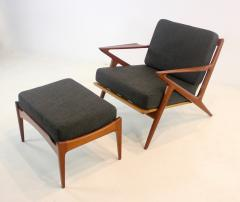 Highly Desirable Z Frame Seating Set Designed by Poul Jensen Selig - 1739989
