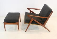 Highly Desirable Z Frame Seating Set Designed by Poul Jensen Selig - 1739990