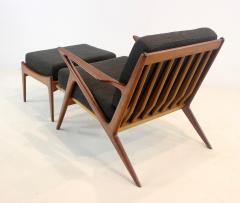 Highly Desirable Z Frame Seating Set Designed by Poul Jensen Selig - 1739992