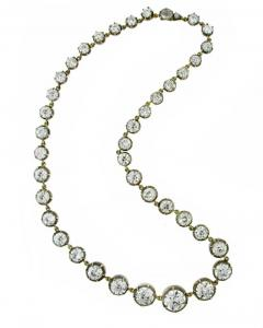 Highly Important Antique Diamond Necklace - 1018918